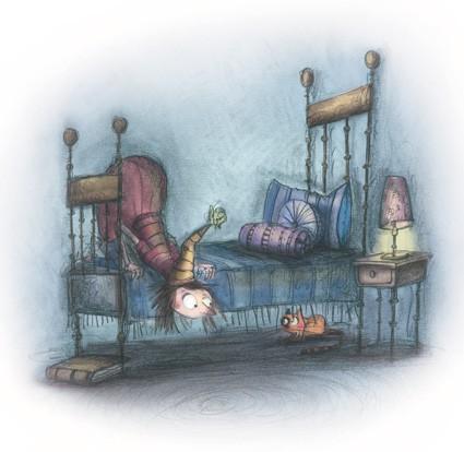 Henriettes Heim Krümel unterm Bett